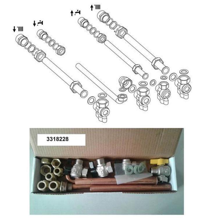 Slika Plinski kondenzacijski bojler 35 kW - Ariston Eco Green Base paket